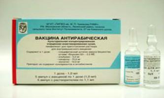 Антирабічна вакцина