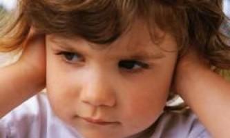Ексудативний отит у дітей