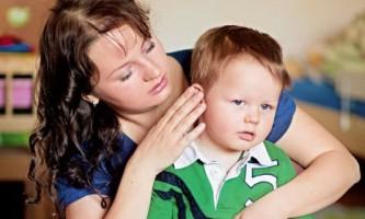 Отит у дитини: симптоми і лікування