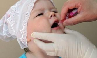 Після щеплення від поліомієліту